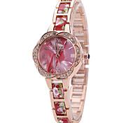 Недорогие -Женские Модные часы Наручные часы Повседневные часы Кварцевый сплав Группа С подвесками Cool Повседневная Креатив Люкс Элегантные часы