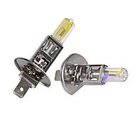 Gmy® halógeno coche luz bombilla h1 dorado serie 24v 70w faro luz antiniebla 2pcs
