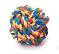 Cat Toy Dog Toy Pet Toys Ball Woven Textile For Pets