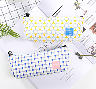 cheap -Pink Stripe Stationery Bag 1 PCS