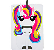 For Apple iPad (2017) Pro 9.7'' Case Cover Pattern Back Cover Case 3D Cartoon Unicorn Soft Silicone Air 2  Air  iPad 4/3/2
