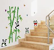 Недорогие -Животные Мультипликация ботанический Наклейки Простые наклейки Декоративные наклейки на стены, Бумага Украшение дома Наклейка на стену