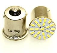Sencart 10pcs 1156 P21W BA15S R10W 22x3014 LED car daytime running light Auto Tail Side Indicator Lights Parking Lamp Bulbs