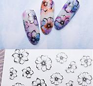 1 Adesivos para Manicure Artística Other maquiagem Cosméticos Designs para Manicure