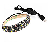 BRELONG USB 5050 Strip Lights 5V TV Background Waterproof 90CM 27 Leds With Switch