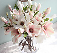 cheap -Artificial Flowers 1 Branch European Style Magnolia Tabletop Flower
