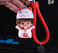 Bag / Phone / Keychain Charm Cute Cartoon Toy Phone Strap PVC