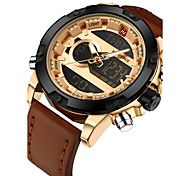 Недорогие -NAVIFORCE Муж. электронные часы Уникальный творческий часы Наручные часы Армейские часы Модные часы Спортивные часы Повседневные часы