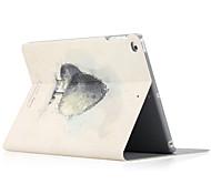 Per il ipad ipad (2017) ipad air 2 copertura di ipad air case con lo stand flip modello pieno corpo caso duro pu pu leather
