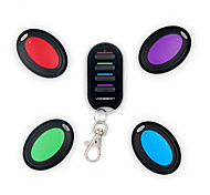 Vodeson Wireless Wallet Locator Set Portable RF Key Finder with 4 Key Ring Receivers  No APP Required