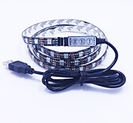 cheap -12W RGB  USB DC 5V  1M 60 Leds Strip Lights High Quality LED Light