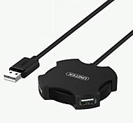 baratos -4 Hub USB USB 2.0 USB 2.0 Com Mangement do fio Hub de dados