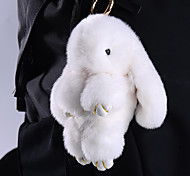 Bag / Phone / Keychain Charm Rabbit Fur