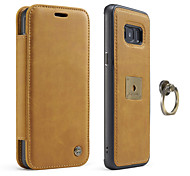 CaseMe® Case for Samsung Galaxy S8 S8 Plus Card Holder Flip Phone Case Genuine Leather  for Samsung Galaxy S7 S7 EDGE