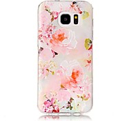 For Samsung Galaxy S8 Plus S8 Embossed Flower Pattern High Quality TPU Soft Phone Case for S7 Edge S7