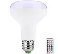 preiswerte -10W 580-700 lm E27 Smart LED Glühlampen R80 38 Leds SMD 5050 Dekorativ Ferngesteuert Warmes Weiß RGB Wechselstrom 85-265V
