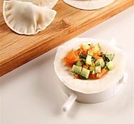 cheap -Chinese Dumpling Dough Press Quick Maker Pizza Empanada Mold for 7cm Diameter Cuisine Dough
