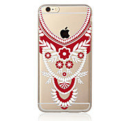 Case For  iPhone 7 7 Plus TPU Soft Back Cover Lace Printing For iPhone 6 Plus 6s Plus iPhone 5 SE 5s 5C 4s