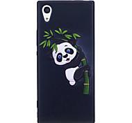 Недорогие -Sony xperia xa1 xz чехол для чехлов панда шаблон окрашенный выбитый чехол tpu мягкий чехол для телефона