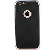 ase for Apple iPhone 7 7Plus Solid Color Geometric Pattern Shockproof Hard TPU Back Case Cover For iPhone 6s Plus 6 Plus 6s 6