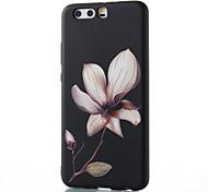 Недорогие -Для huawei mate 8 mate 9 pro чехол чехол для цветочного узора рельеф tpu материал корпус для телефона p10 p9 p8 lite 2017 6x nova v9