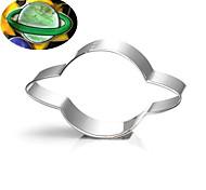 Недорогие -выпечке Mold Звезда Мультфильм образный Для Sandwich Для получения сыра Пироги Хлеб Нержавеющая сталь