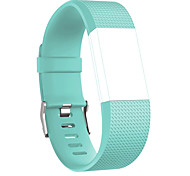 cheap -Watch Band for Fitbit Charge 2 Fitbit Sport Band Rubber Wrist Strap