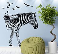 Недорогие -Животные Отдых Праздник Наклейки Простые наклейки Декоративные наклейки на стены 3D, Бумага Украшение дома Наклейка на стену Стена Окно