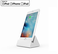 cheap -iQunix® MFI Certificated Dock Charger Mount Desk Holder Hima Aluminum Alloy Dock Charging Station for iPhone iPad air Pro
