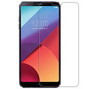 Недорогие -Защитная плёнка для экрана LG для LG G6 Закаленное стекло 1 ед. Защитная пленка для экрана Уровень защиты 9H HD