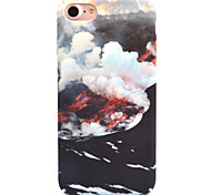 For Apple iPhone 7 7 Plus 6S 6 Plus Case Cover Sea Of Clouds Pattern Decal Skin Care Touch PC Material Phone Case