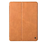 Genuine Leather Case For Apple New iPad 2017 Release 9.7 inch Luxury Stand Folio Flip Skin Magnetic Sleep Smart Cover Case