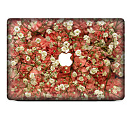 cheap -1 pc Skin Sticker for Scratch Proof Floral Pattern PVC MacBook Pro 15'' with Retina MacBook Pro 15'' MacBook Pro 13'' with Retina MacBook