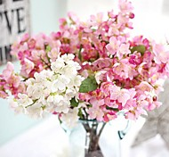 cheap -1 Branch Silk Sakura Others Tabletop Flower Artificial Flowers Home Decoration Wedding Flowers