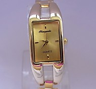 Women's Fashion Watch Wrist watch Quartz Alloy Band Bangle Gold