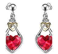 Women's Drop Earrings Unique Design Euramerican Fashion Luxury Adorable Classic Elegant Copper Platinum Plated Eco-friendly Material jewelry