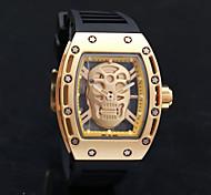 Men's Skeleton Watch Fashion Watch Wrist watch Bracelet Watch Unique Creative Watch Casual Watch Sport Watch Military Watch Dress Watch