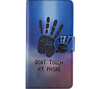 cheap -Case For LG G6 G5 Case Cover The Palm Pattern PU Leather Cases for LG G3