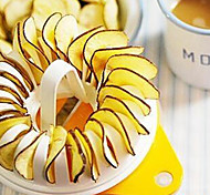 Potato Chips Baking Tray Microwave Oven Fat Free Potato Chips Maker Grill Basket Home DIY Baking Tool