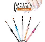 Pinpai 5 New Crystal Nail Paint Painting Pen Nail Modelling Light Therapy Nail Brushes Nail Art Tool Nail Salon