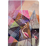Case For iPad Pro 10.5 Pro 9.7 Flamingo Pattern PU Leather Material Flat Protective Cover Case for iPad 2017 iPad Air2 Air iPad 2 3 4 iPad mini
