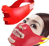 cheap -Novelty Silicone V Face Slimmer Cheek Lift Up Thin Massage Mask Facial Slimming Contour Shaper Anti Nasolabial Folds Wrinkle Sag Sleeping Belt Pillow