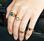 Жен. Классические кольца Кольцо манжета кольцо Круглый дизайн Животный дизайн Мода По заказу покупателя Rock EuramericanМеталлический