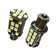 cheap -2PCS High Bright Lightness 1156 20W LED Bulb White Color