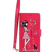 Недорогие -Case for sony xperia xa ultra xz чехол чехол карта держатель кошелек с подставкой светится в темном флип-чемоданном случае сексуальная