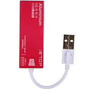 Недорогие -IETOP 4 порта USB-концентратор USB 2.0 Защита входа Центр данных
