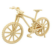 cheap -3D Puzzles Jigsaw Puzzle Wood Model Dinosaur Plane / Aircraft Bicycle 3D DIY Wooden Wood Classic 6 Years Old and Above