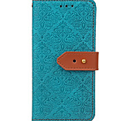 Case For Huawei P10 Lite P10 Plus Case Cover Card Holder Wallet with Stand Flip Embossed Pattern Full Body Case Flower Hard PU Leather