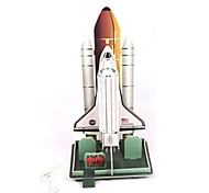 cheap -3D Puzzles Model Building Kit Spacecraft DIY High Quality Paper Classic Unisex Gift
