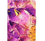 preiswerte -Hülle Für Samsung Galaxy Tab A 9.7 Tab A 8.0 Kreditkartenfächer mit Halterung Flipbare Hülle Magnetisch Muster Ganzkörper-Gehäuse Marmor